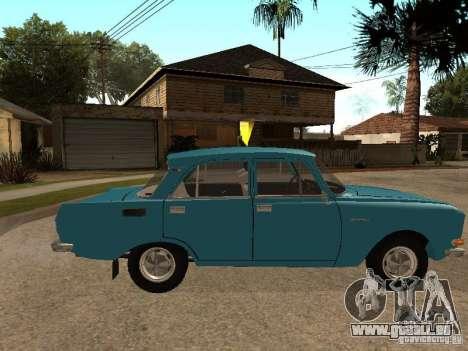 2140 AZLK v2 pour GTA San Andreas laissé vue