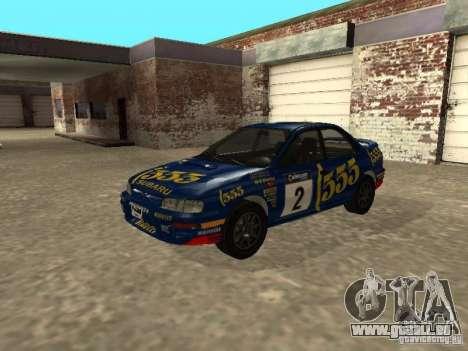Subaru Impreza WRX STI 1995 pour GTA San Andreas moteur