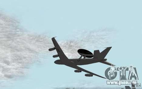 Boeing E-3 Sentry pour GTA San Andreas laissé vue