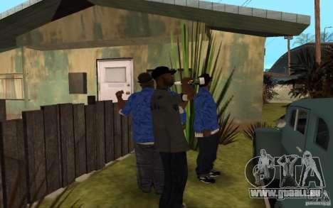 Crips 4 Life für GTA San Andreas achten Screenshot