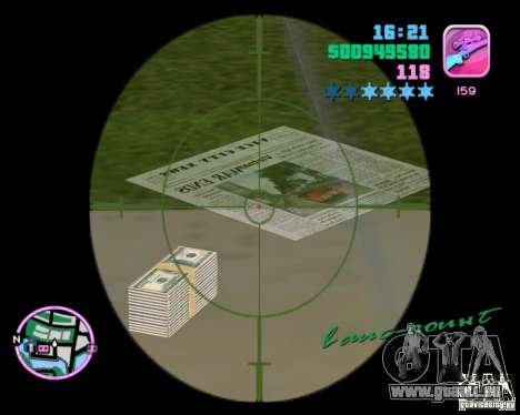 Nouvelles textures GTA Vice City pour la deuxième capture d'écran