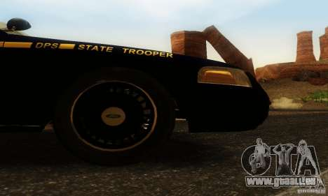 Ford Crown Victoria Nevada Police pour GTA San Andreas vue de droite