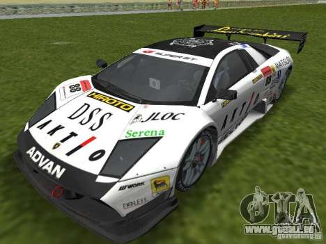 Lamborghini Murcielago R-GT pour GTA Vice City