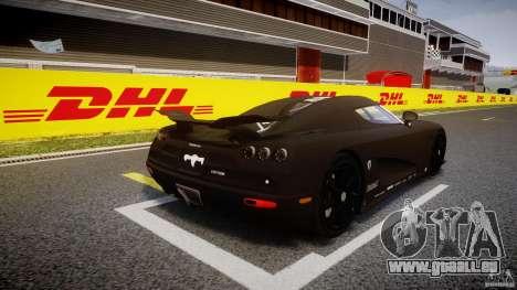 Koenigsegg CCXR Edition für GTA 4 Seitenansicht