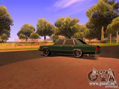Chevrolet Malibu 1980 pour GTA San Andreas sur la vue arrière gauche
