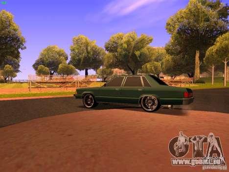 Chevrolet Malibu 1980 für GTA San Andreas zurück linke Ansicht