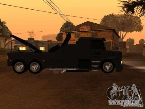 Scania 112H Gruas Fenix pour GTA San Andreas laissé vue