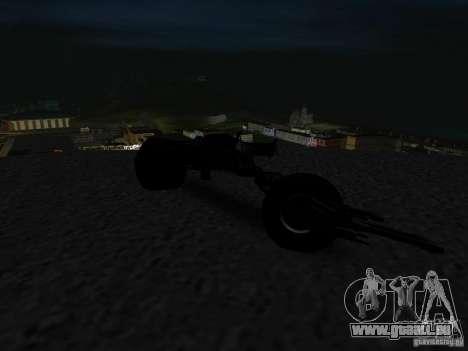 Batpod für GTA San Andreas Rückansicht