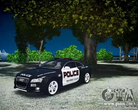 Audi S5 Police pour GTA 4 est un droit