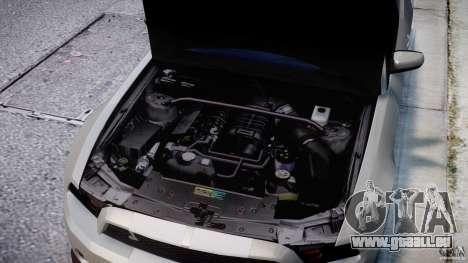 Ford Shelby GT500 2010 [Final] pour GTA 4 vue de dessus