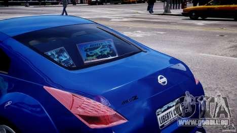 Nissan 350Z Veilside Tuning pour GTA 4 roues