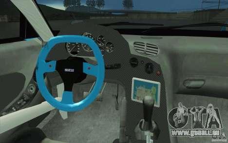 Mazda RX-7 911 Trust für GTA San Andreas obere Ansicht