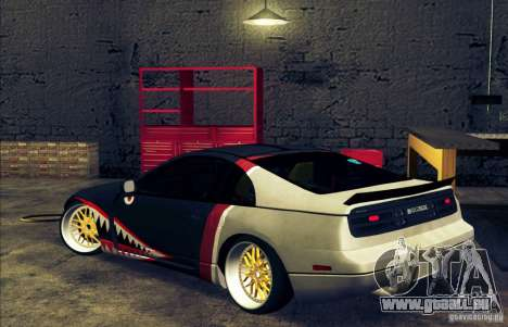 Nissan 300ZX Bad Shark für GTA San Andreas linke Ansicht