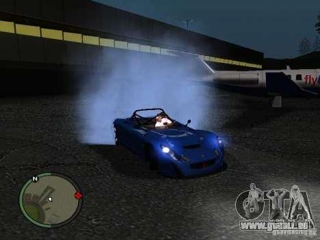 Lotus 2-Eleven 2009 pour GTA San Andreas laissé vue