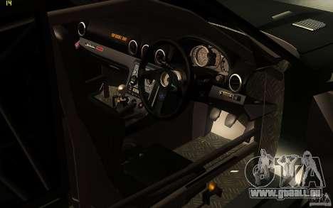 Toyota Soarer GZ20 für GTA San Andreas obere Ansicht