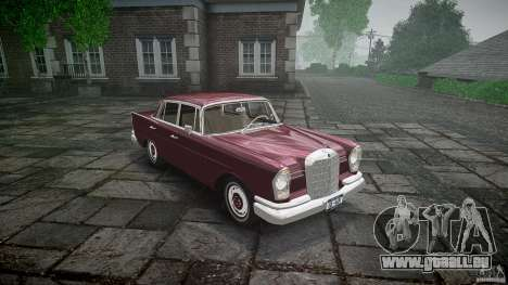 Mercedes Benz W111 Final pour GTA 4