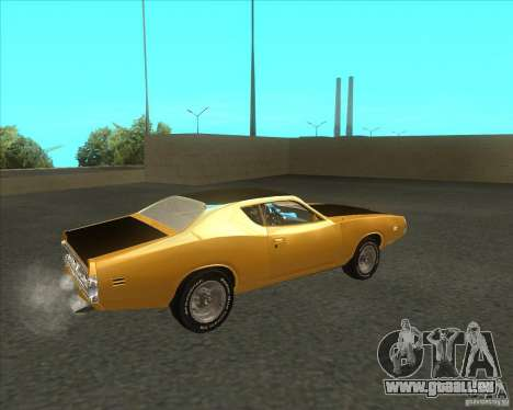 Dodge Charger RT 1971 für GTA San Andreas zurück linke Ansicht