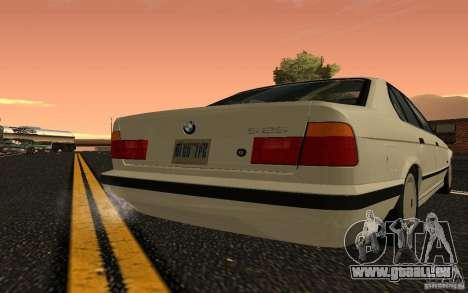 BMW 525 (E34) V.2 pour GTA San Andreas vue de droite
