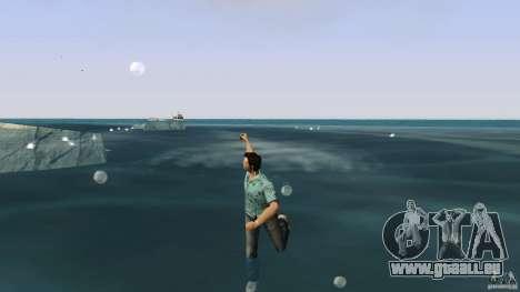 Natation GTA Vice City pour la deuxième capture d'écran