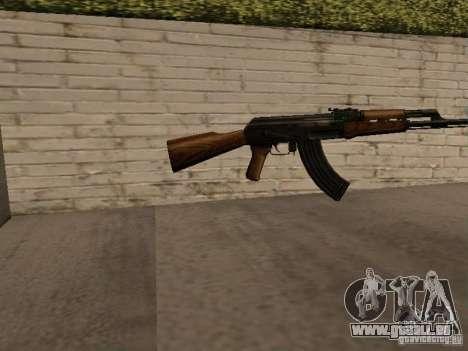 AK-47 pour GTA San Andreas deuxième écran