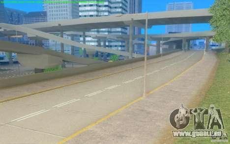 Routes en béton de Los Santos Beta pour GTA San Andreas troisième écran