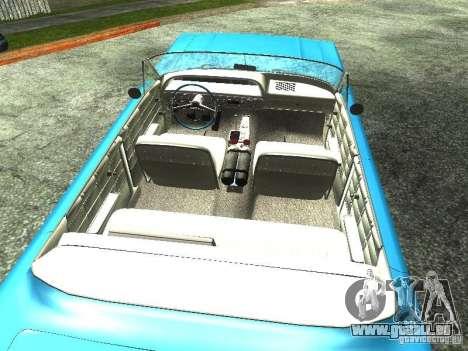 Chevrolet Impala 1964 (Lowrider) pour GTA San Andreas sur la vue arrière gauche