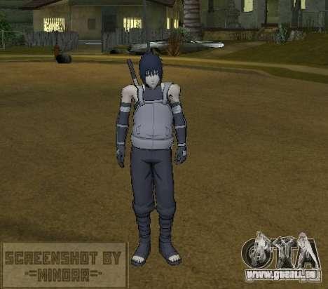 Peau Sasuke Anbu pour GTA San Andreas