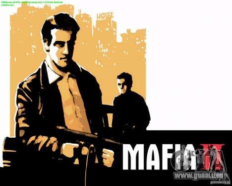 Bildschirme von Mafia 2 laden für GTA San Andreas siebten Screenshot