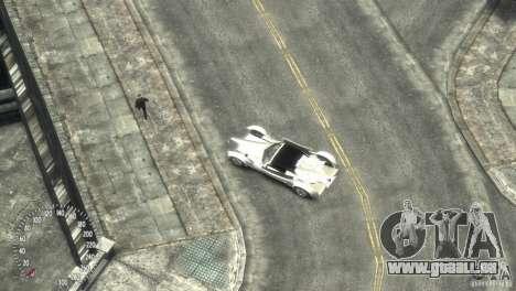 Ibis Formula GT pour GTA 4 est une vue de l'intérieur