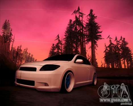 Scion tC Blue Meisters für GTA San Andreas linke Ansicht