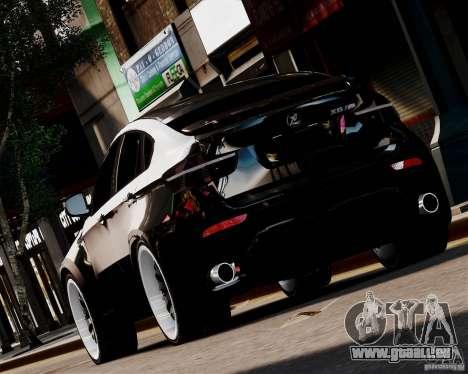 BMW X6 Tuning v1.0 für GTA 4 hinten links Ansicht
