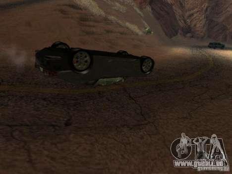 Umgestürzten Autos brennen nicht für GTA San Andreas dritten Screenshot