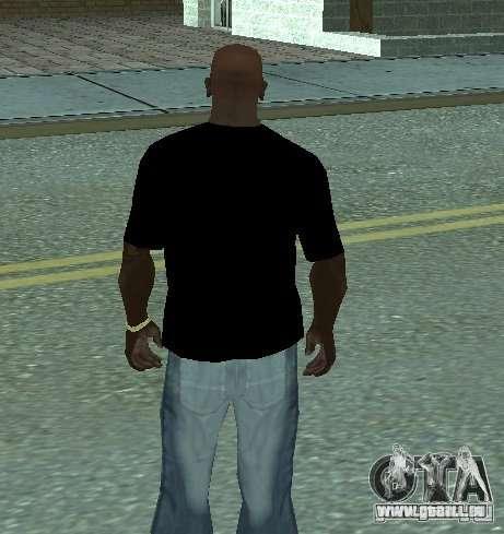 Triple-H-T-shirt für GTA San Andreas zweiten Screenshot
