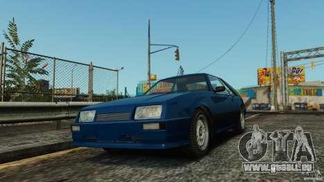Uranus Hatchback pour GTA 4 est une gauche