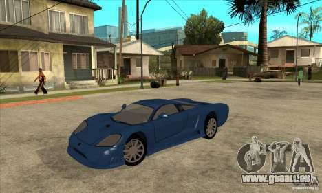Saleen S7 v1.0 für GTA San Andreas