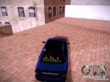 VAZ Lada 2170 Priora pour GTA San Andreas vue de droite