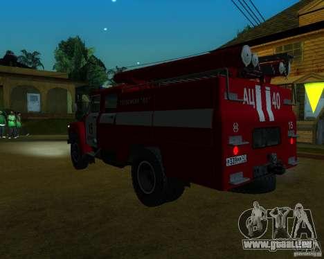 ZIL 130 AC 40 pour GTA San Andreas laissé vue