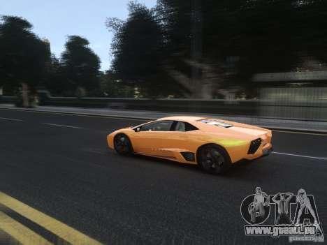 Lamborghini Reventon 2008 für GTA 4 Seitenansicht