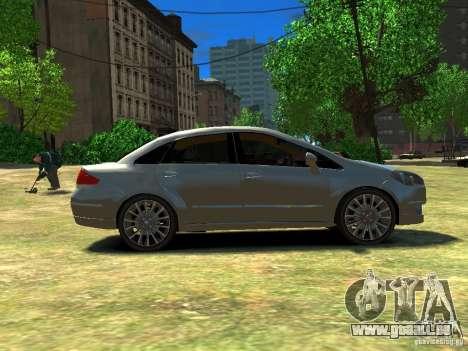 Fiat Linea für GTA 4 linke Ansicht
