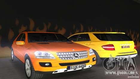 Mercedes-Benz ML 500 für GTA Vice City