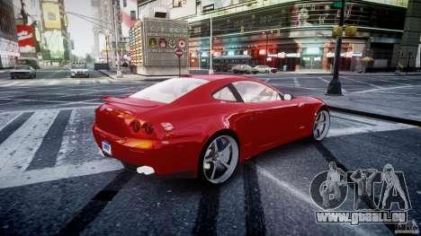 Ferrari 612 Scaglietti custom für GTA 4 Unteransicht