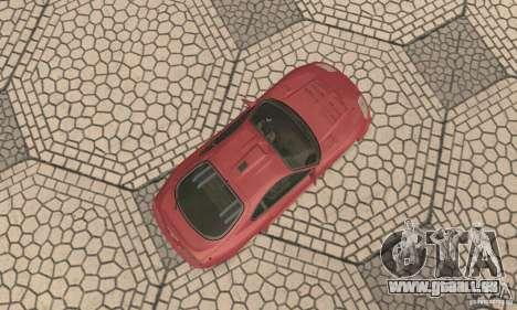 Toyota Supra Tunable 2 pour GTA San Andreas vue arrière