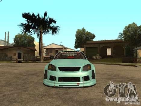 Chevrolet Cobalt SS NFS Shift Tuning pour GTA San Andreas vue de droite