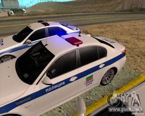 BMW M5 E60 DPS pour GTA San Andreas vue de droite