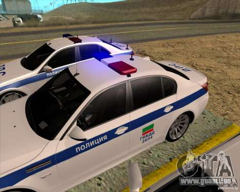 BMW M5 E60 DPS für GTA San Andreas rechten Ansicht