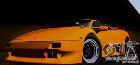 Lamborghini Diablo VTTT Black Revel pour GTA San Andreas laissé vue