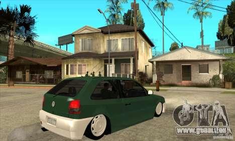 Volkswagen Gol v1 für GTA San Andreas rechten Ansicht