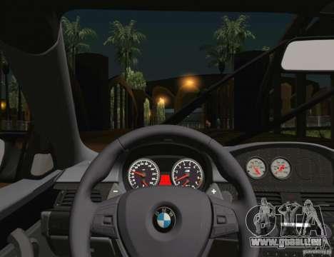 BMW M3 GT-S 2011 pour GTA San Andreas vue de dessus
