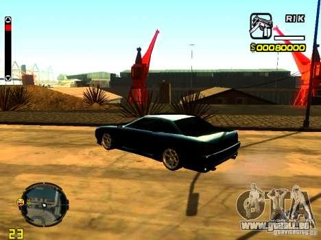 New Elegy v1 pour GTA San Andreas laissé vue