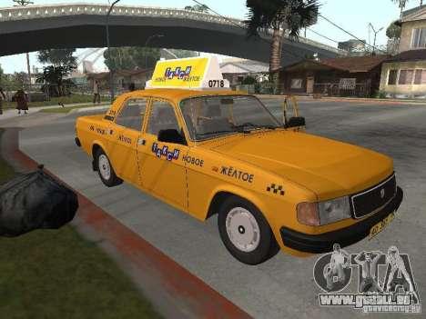 Volga GAZ 31029 Taxi für GTA San Andreas